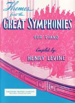 Themes From The Great Symphonies For Piano - SOLO PART Sheet Music