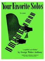 Your Favorite Solos For Piano - SOFT COVER Sheet Music