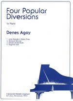 Four Popular Diversions - For Piano SOLO PART Sheet Music