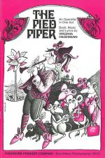 The Pied Piper - An Operetta In One Act LIBRETTO Sheet Music