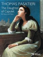 The Daughter Of Capulet - PIANO REDUCTION/VOCAL SCORE Sheet Music
