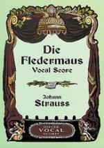 Die Fledermaus - Vocal Score Sheet Music