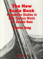 The New Scale Book - Foundation Studies In 20th Century Music For Double Bass SOFT COVER Sheet Music