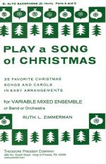 Play A Song Of Christmas - 35 Favorite Christmas Songs And Carols In Easy Arrangements SOLO PART Sheet Music