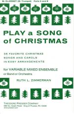 Play A Song Of Christmas - 35 Favorite Christmas Songs And Carols In Easy Arrangements PART(S) Sheet Music