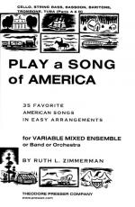Play A Song Of America - 35 Favorite American Songs In Easy Arrangements PART(S) Sheet Music