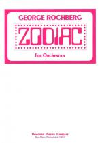 Zodiac - For Orchestra - Study Score FULL SCORE - STUDY Sheet Music