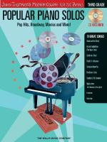 Popular Piano Solos - Grade 3 Pop Hits, Broadway, Movies And More! John Thompson's Modern Course For Sheet Music