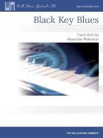 Black Key Blues Mid-Intermediate Level Sheet Music Sheet Music