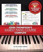 John Thompson's Easiest Piano Course - Complete 4-Book/4-CD Boxed Set Sheet Music