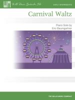 Carnival Waltz Early Intermediate Level Sheet Music Sheet Music