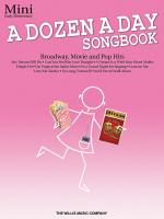 A Dozen A Day Songbook-mini Early Elementary Level Sheet Music