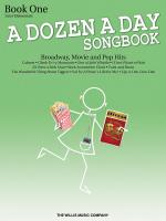 A Dozen A Day Songbook-book 1 Later Elementary To Early Intermediate Level Sheet Music