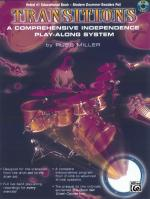 Transitions (A Comprehensive Independence Play-Along System) - Book & CD Sheet Music