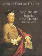 Songs and Airs from the Great Oratorios (For High Voice) - Book Sheet Music
