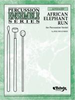African Elephant Run (For Percussion Sextet) - Conductor Score & Parts Sheet Music