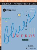 Discover Blues Improvisation An Introduction To Blues Piano Sheet Music