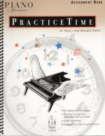 Piano Adventures Practicetime Assignment Book Sheet Music