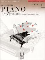 Accelerated Piano Adventures For The Older Beginner Performance Book 1 Sheet Music