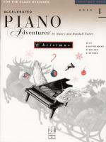 Accelerated Piano Adventures For The Older Beginner Christmas Book 1 Sheet Music