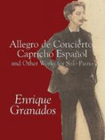 Allegro De Concierto, Capricho Espa Sheet Music