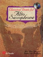 Classical Duets For Alto Saxophone A Journey Through The History Of Classical Music Sheet Music