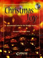 Christmas Joy Eb Alto Saxophone - Grade 3 - Book/CD Pack Sheet Music