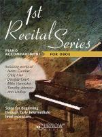 First Recital Series Piano Accompaniment For Oboe Sheet Music