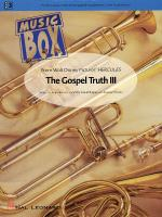 The Gospel Truth III (From Hercules) Sheet Music