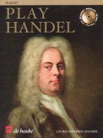 Play Handel Clarinet Sheet Music