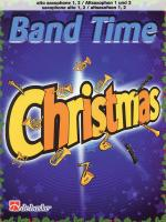 Band Time Christmas Alto Saxophone 1, 2 Sheet Music
