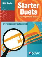 Starter Duets 60 Progressive Duets - Trombone/Euphonium Basso Continuo Sheet Music