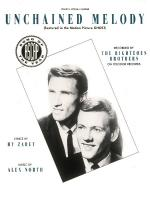 Unchained Melody Sheet Music Sheet Music