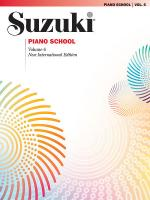 Suzuki Piano School New International Edition Piano Book, Volume 6 Sheet Music