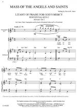 Mass Of The Angels And Saints Sheet Music