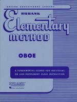Rubank Elementary Method - Oboe Sheet Music
