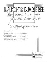 Flight Of The Bumblebee Flute With Piano Accompaniment Sheet Music