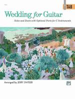 Wedding for Guitar: In TAB (Solos and Duets with Optional Parts for C Instruments) - Book Sheet Music