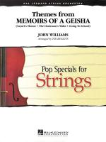 Themes From Memoirs Of A Geisha Sheet Music