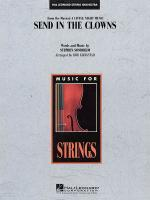 Send In The Clowns From A Little Night Music Sheet Music