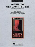Overture To Miracle On 34th Street String Insert For Concert Band Version Sheet Music