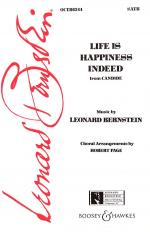 Life Is Happiness Indeed (From Candide) SATB Sheet Music Sheet Music