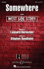 Somewhere (From West Side Story) Sheet Music Sheet Music
