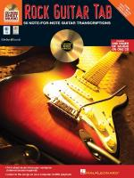 Rock Guitar Tab CD-Rom Sheet Music Sheet Music