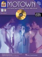 Motown 50 Classic Hits For Piano/Vocal/Chords Sheet Music