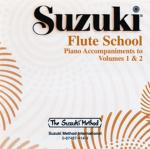 Suzuki Flute School CD, Volume 3 & 4 Piano Acc. Sheet Music