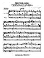 Fireworks Music (Suite from the Music for the Royal Fireworks) - Sheet Music Sheet Music