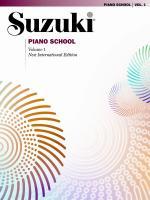 Suzuki Piano School New International Edition Piano Book, Volume 1 Sheet Music