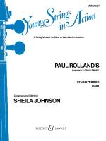 Young Strings In Action Student Volume I Sheet Music