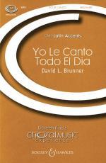 Yo Le Canto Todo El Dia Cme Latin Accents Sheet Music Sheet Music